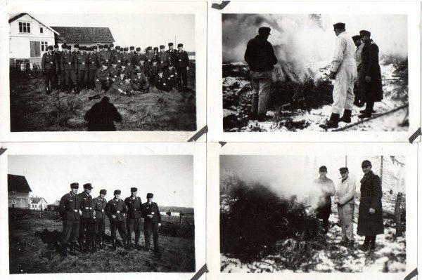 photos soldat allemand datée 1944
