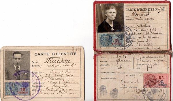 2 carte d'identité