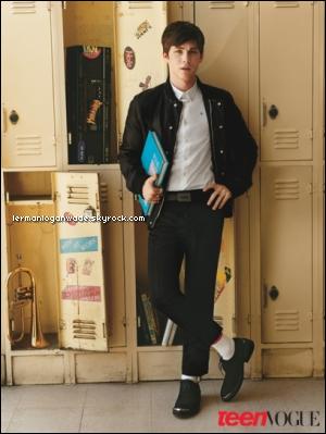 * Voici un nouveau shoot réalisé par le photographe Alasdair McLellan pour le magazine Teen Vogue.*
