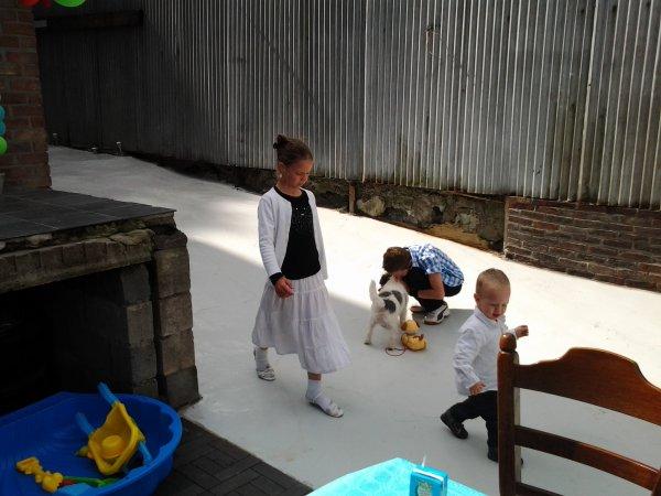 25.08.2012 - Bapteme de Lucas et Hugo