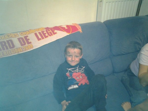 12.10.2012 - Mes enfants en supporter Diable rouge