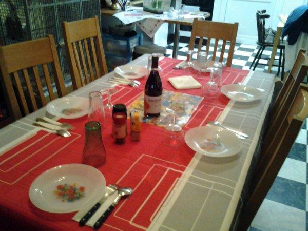 24.11.2012 - Soiree memorable avec nos amis francais et hutois