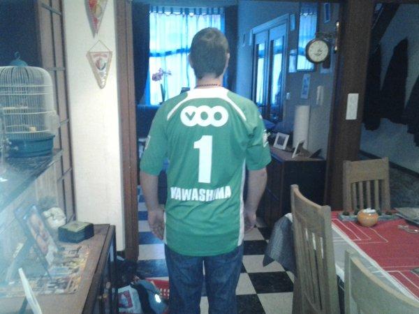 27.12.2012 - Ma nouvelle vareuse du Standard de Liege