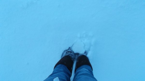 15.01.2013 - L'hivers est bien là (à Mouscron)