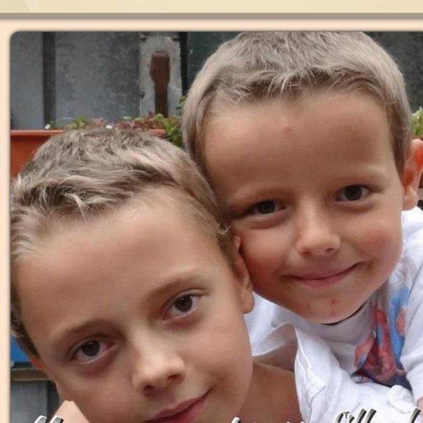 Mes 2 fils: Dylan et Bryan