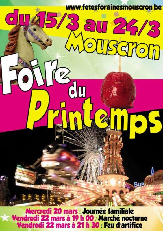 20.03.2013 - Foire du Printemps à Mouscron