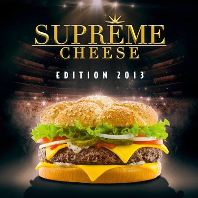 Hummm.... Supreme cheese edition 2013