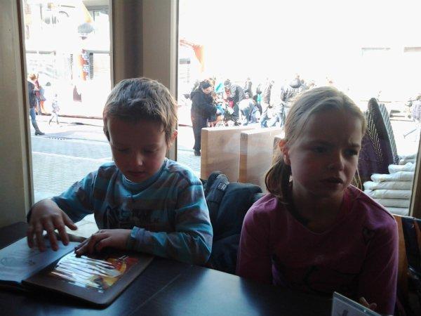 07.04.2013 - La petite famille a Coxyde