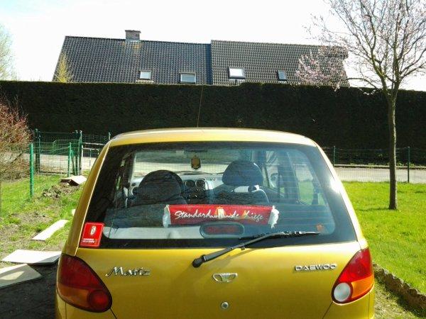 15.04.2013 - Ma voiture redecoree aux couleurs du Standard de Liege