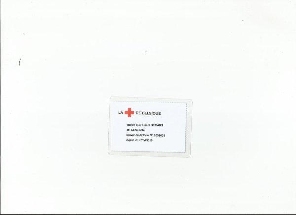 Mon brevet de secourisme - Croix-Rouge de Belgique