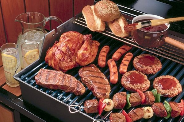 08.06.2013 - 7° barbecue de l'année 2013 chez Erik à Viane