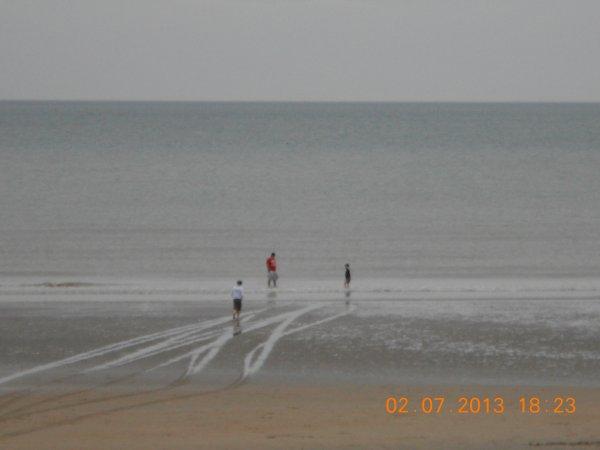 02.07.2013 - Sur la plage à Sint-Idesbald