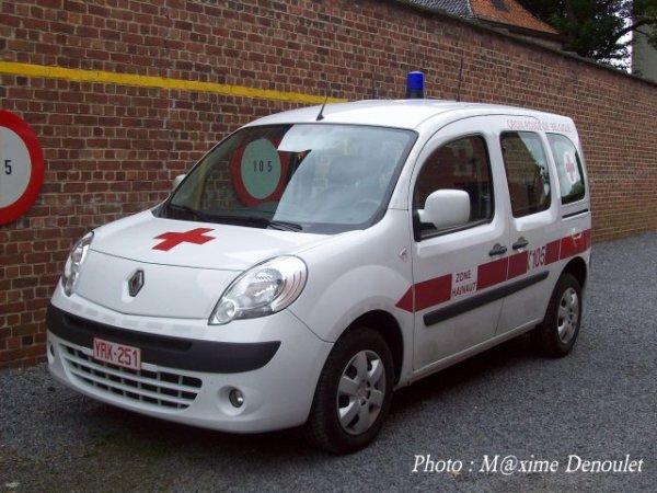 Mon véhicule de service :-)