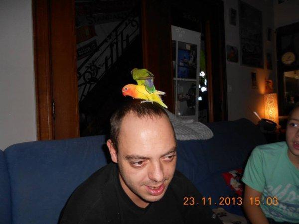 Dan, l'ami des oiseaux :-)