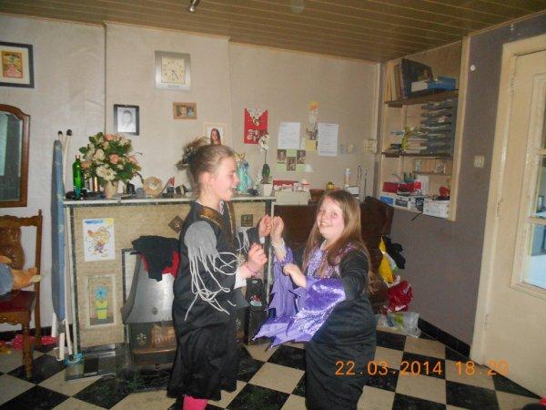22.03.2014 - Justine et Laëtitia