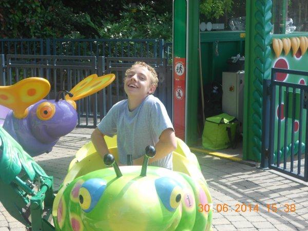 30.06.2014 - Superbe journée à Bellewaerde Park