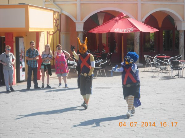 04.07.2014 - Walibi avec mes enfants