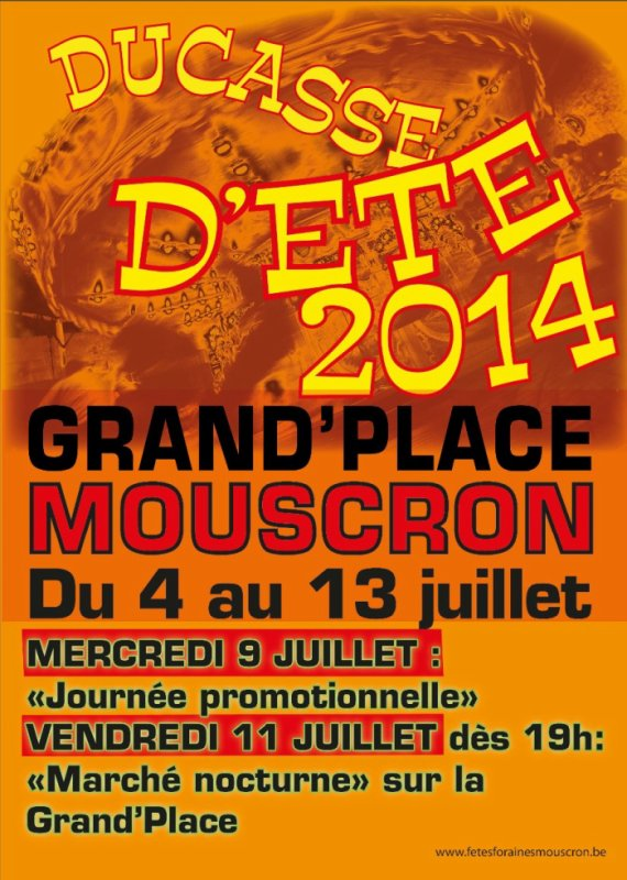 11.07.2014 - Ducasse d'été de Mouscron