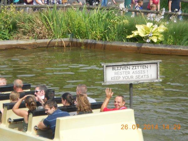 26.07.2014 - Bellewaerde Park à Ypres (Ieper)