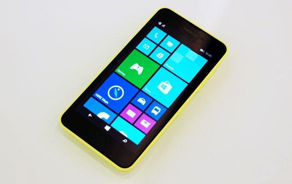 02.09.2014 - Merci ma chérie pour ce beau cadeau - Nokia Lumia 630