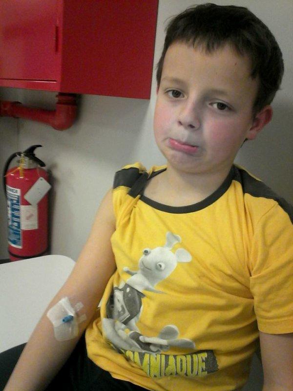 08.03.2015 - Bryan aux urgences du CHM