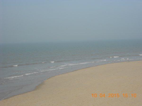10.04.2015 - Sur les plages de Blankenberge et de Zeebrugge