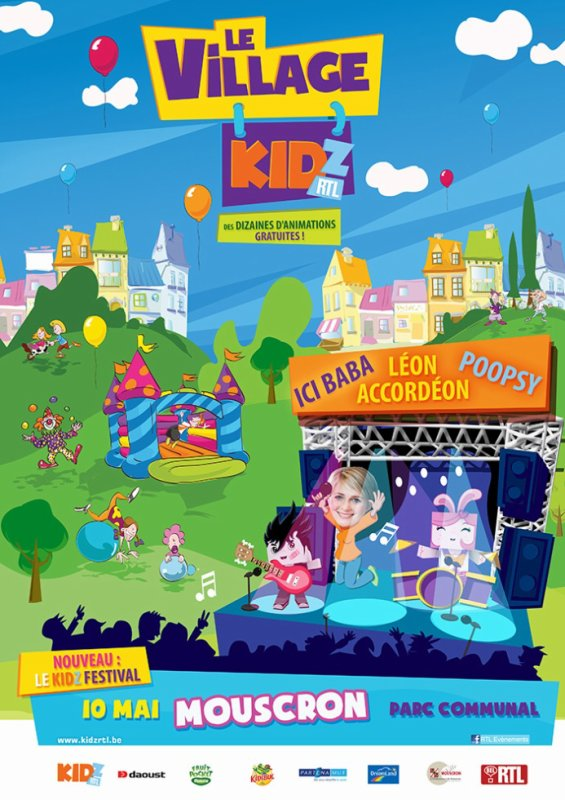 10.05.2015 - Kidz parc RTL/TVI à Mouscron