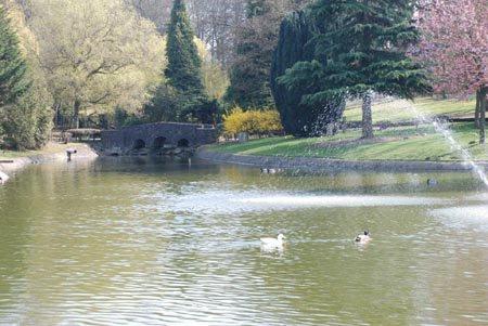 21.08.2015 - Promenade en famille au parc communal de Mouscron