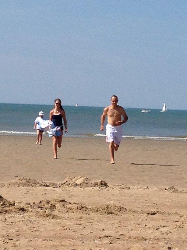 22.08.2015 - En famille à la côte de Westende (2)