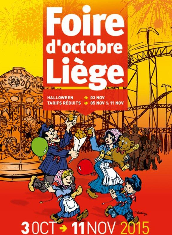 31.10.2015 - En famille à la foire de Liège