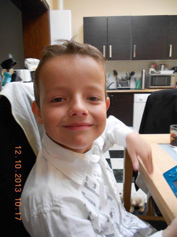 Bon anniversaire mon fils Bryan - 10 ans