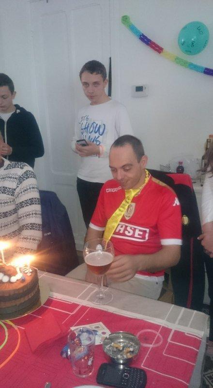 Merci à tout le monde pour mon 40' anniversaire