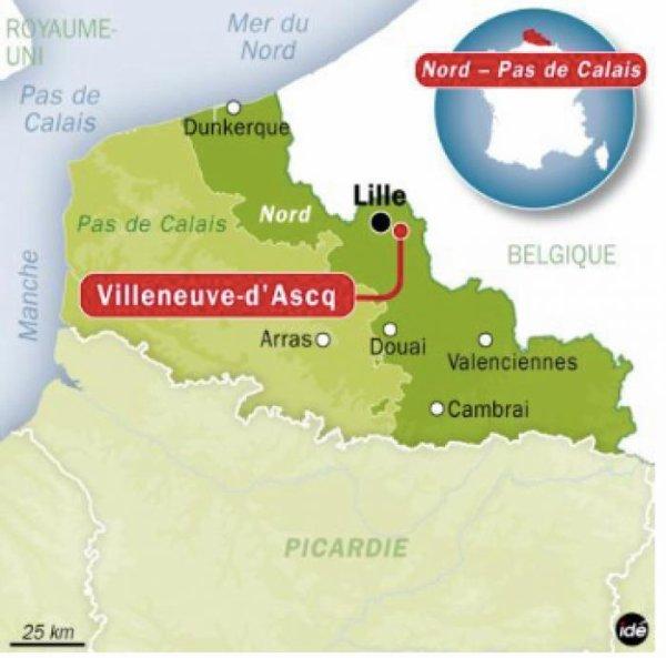 12.04.2016 - Excursion scolaire pour Bryan à Villeneuve d'Ascq (F)