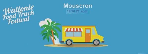 21.08.2016 - Festival Foods Trucks Mouscron
