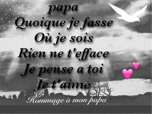 Bonne fête de la Toussaint papa - RIP - Repose en paix
