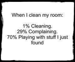 ♡ VERRY FUNNY ♡ (clean my room)