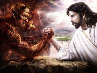 satan vs jesus