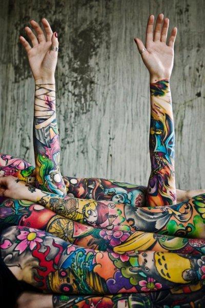 tatouage de Dave Simmons