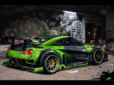 nissan skylan r35 gtr blog de show tuning. Black Bedroom Furniture Sets. Home Design Ideas