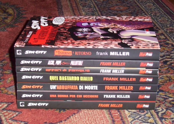 Booze, Broads & Bullets - The Sin City Tribute Week (Prologue - Part 1)