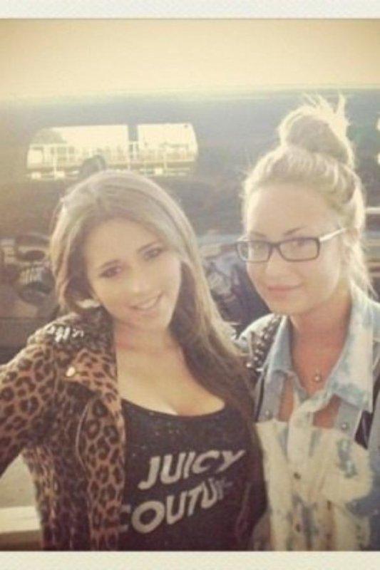 Demi et une fan