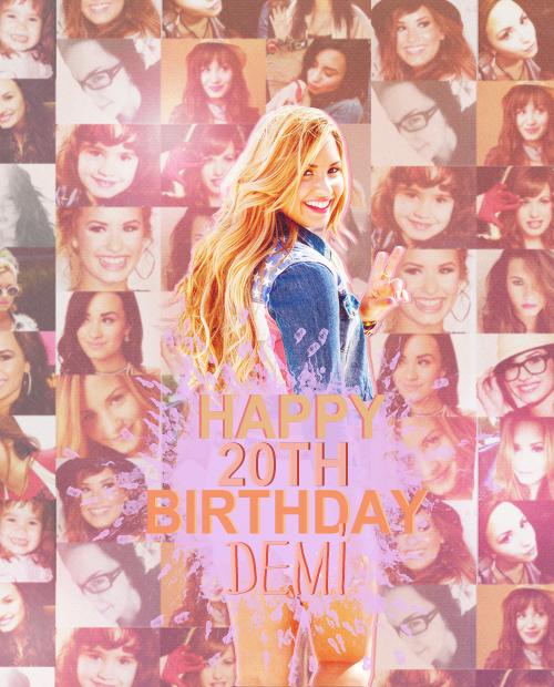 Happy Birthday Demi !!