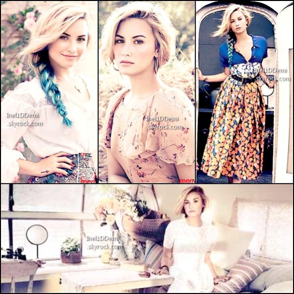 """Demi pose pour le magazine """"Teen Vogue"""""""
