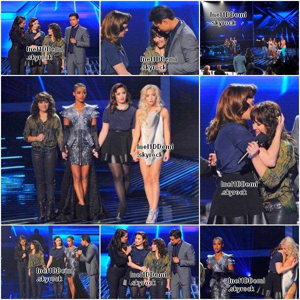 Demi au Live Show le 15 Novembre. Elle est Sublime ! Votre Avis ?