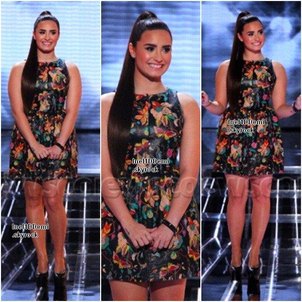 Demi au Live Show le 14 Novembre. Elle est Superbe ! Votre Avis ?