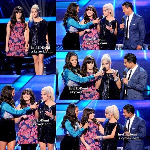 Le 6 Décembre a eu lieu le Live Show n°12 où Cece Frey a été élimée . Ensuite a eu lieu une Fête d'honneur pour féliciter les 4 finalistes . Demi était Sublime !