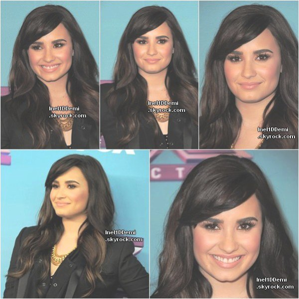 Demi a assisté le 17 Décembre à la conférence d'X-Factor à Los Angeles .