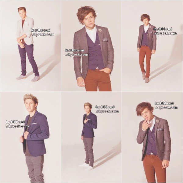 "Nouveau photoshoot des One Direction pour le magazine ""YOU"" + le Behind in the scene ."