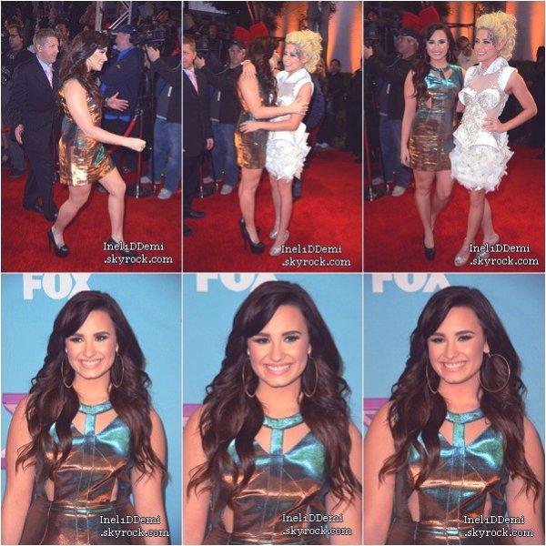 """Le 20 Décembre, """"Une Splendeure"""" a défilé sur le Tapis Rouge lors de la Finale D'X-Factor ."""