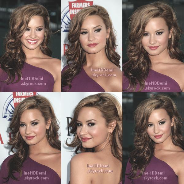 Le 23 Septembre 2010, Demi était présente a l'évènement Padres Contra El Cancer's 25th Annual Gala .